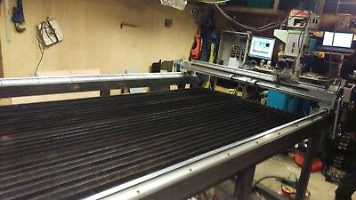 Plasma cutting beds made to order