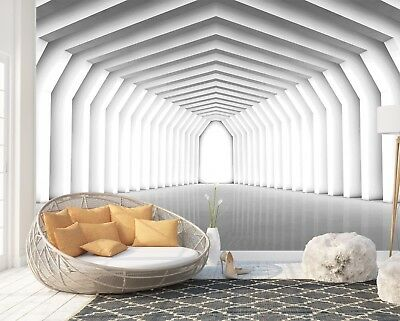 Wall Mural Photo Wallpaper Picture EASY-INSTALL Fleece 3D Modern Geometry Poster
