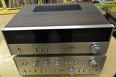 Vintage Nikko Intergrated Amp and Tuner