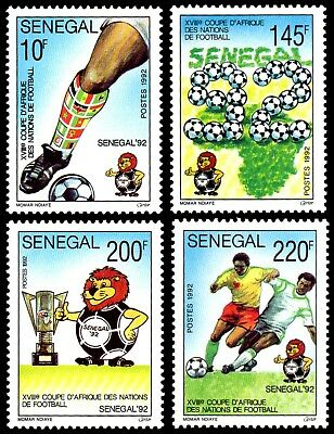 SENEGAL ** 1992 MiNr. 1174 - 1177 AFRIKA-CUP / Africa Cup of Nations