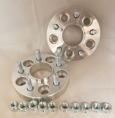 Jaguar X Type S Type 5x108 25mm per side Hubcentric wheel spacers