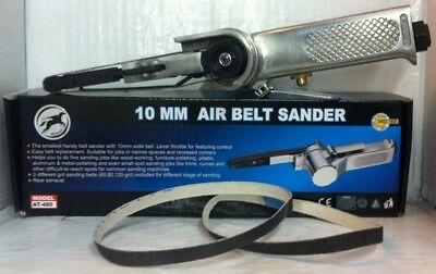 10mm Air Belt Sander Hymair AT-480 & 3 Belts