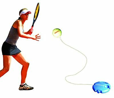 Tennis Trainer Tourna Fill Drill Aid Practice Youth One Size Portable Strokes