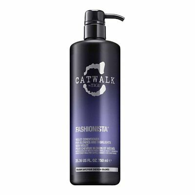 Tigi Catwalk Fashionista Violet Conditioner 750ml for Her, NEW + FREE DELIVERY