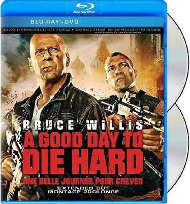 A Good Day To Die Hard (Bruce Willis) - 2 Disc Extended *new Blu-Ray + Dvd*