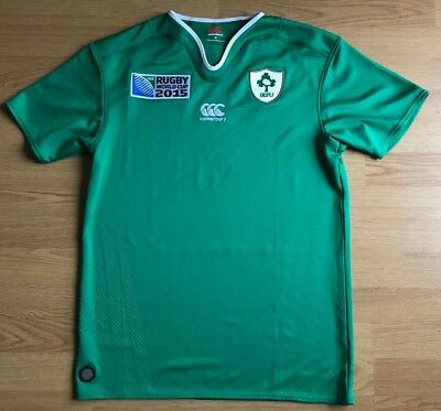 Ireland 2015 World Cup,Home,Canterbury,Medium Rugby Shirt...Great Condition...