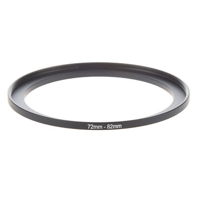 Camera Parts 72mm to 82mm Lens Filter Step Up Ring Adapter Black K5T6