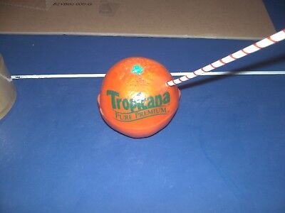 Tropicana Oranges Advertising Radio - Orange with a Straw