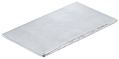 Aluminium Foil Sheet Self Adhesive Reflective Heat Worktops Protector 1000x600mm