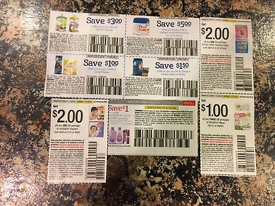 Lot of Baby Diapers Coupons Pull-ups,Huggies,Gerber Good Start Formula $16.50