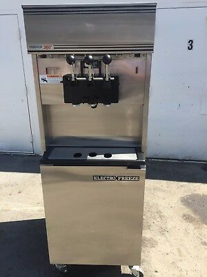 2008 Electrofreeze 99T -RMT Soft Serve Ice Cream Frozen Yogurt Machine 3ph Air