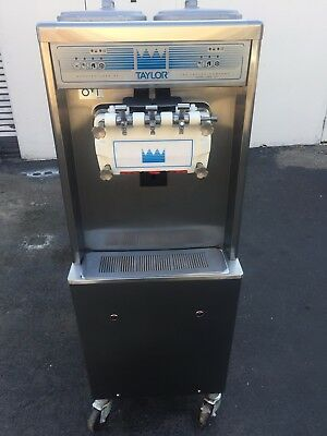 2012 Taylor 791 Soft Serve Frozen Yogurt Ice Cream Machine Warranty 1Ph Air