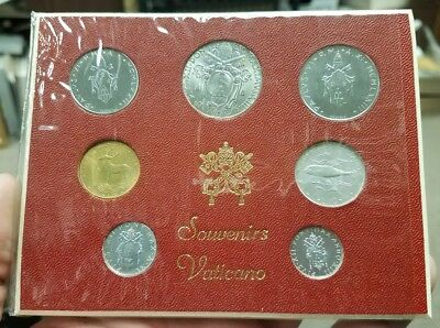 Vatican City 7 Coin Souvenir Set