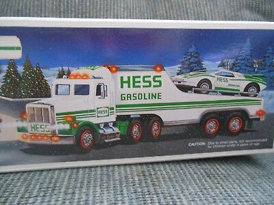Hess Truck~1991 Toy Truck And Racer~New In Box