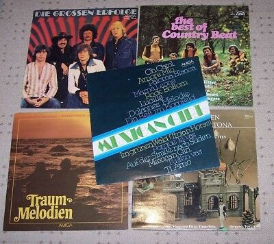 fünf LP´s; Puhdys; Traummelodien; Country; Mexican Girl; Bergendy