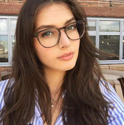 Hot Fashion Retro Frame Vintage Nerd Glasses Clear Lens Frame Geek Fancy Eyewear