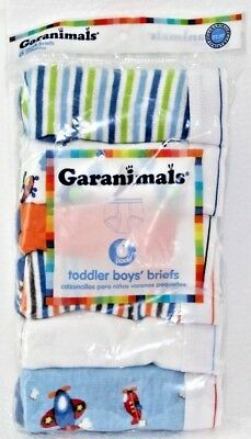 Garanimals Toddler Boys' Briefs 6-Pack | Colors & Prints Vary