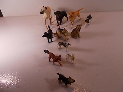 Mixed Lot of 11 Breyer Reeves & Breyer Molding Company Collectible Dogs Nice