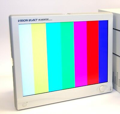 "Stryker 240-030-930 21"" Vision Elect Flat Panel Monitor w/ Power Supply"