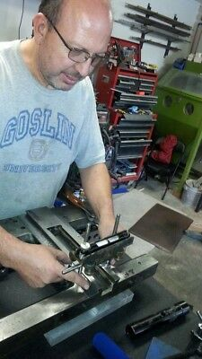 LEARN TO HANDSCRAPE & REBUILD MACHINE TOOLS From RICHARD KING in VERMONT