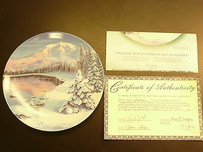 Nature's Legacy Plate Set Collection  WS George Artist Jean Sias L@@K