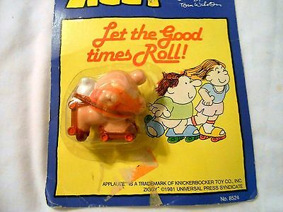 """Ziggy New On Card Pvc Figure """"let The Goodtimes Roll"""" 1981"""