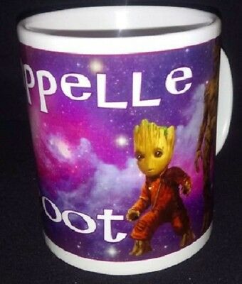 Mug/Tasse JE S'APPELLE GROOT (purple) - Les Gardiens de la Galaxie - 325ml