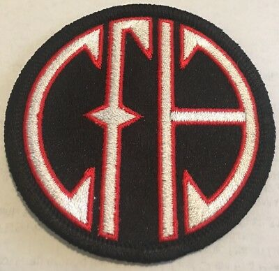 "Made In The USA! 3"" CFH patch ""Cowboys from Hell"" Iron/sew In"