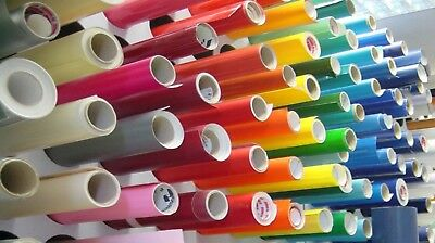 "10 Rolls ORACAL 651 12"" x 24"" each - Outdoor Decal Craft Vinyl - CHOOSE COLORS"