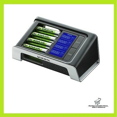 Varta Ultra Fast AA/AAA LCD Battery Charger