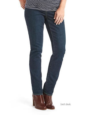 GAP Womens 1969 Maternity FULL PANEL Authentic REAL STRAIGHT JEANS 29 Brand New