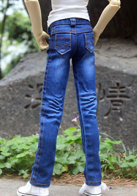 Red Jeans pants Outfits For Male 1//4 17in 44CM BJD MSD AOD DOD Doll GW