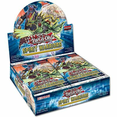 KONAMI Yu-Gi-Oh! Spirit Warriors - Booster Display (DE)