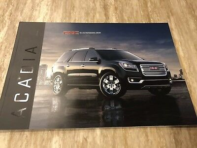 2016 GMC ACADIA 32-page Original Sales Brochure