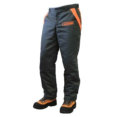 Clogger Defender Safety Chainsaw Pants Trousers Chaps Protective Leg Cut Proof