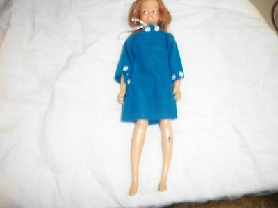 """1964 Vintage Ideal Toy Corp Dodi doll 9"""" bendable Tammy Family (Peppers friend)"""