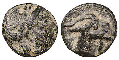 AEOLIS Aigai 4th-3rd centuries BC Bronze Near Mint State  #G30 arscoin