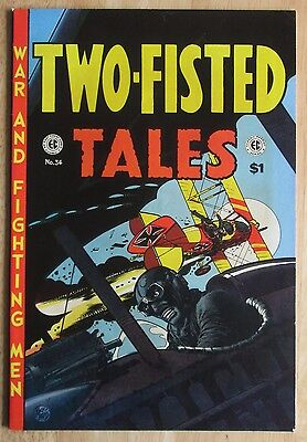 """East Coast Comix 1974 """"TWO-FISTED TALES"""" #34, Photo's Show Great  Condition"""