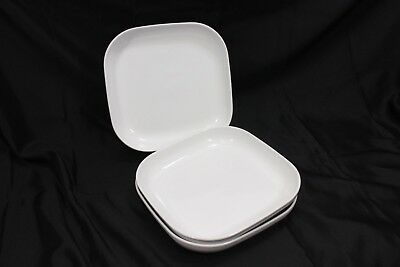 SET OF 5 White Ikea Plates-1 Dinner Plate and 4 Salad Plates-21464 ...