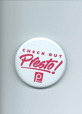 Presto! Old Vintage Publix Pin /button Only Have One Dont Miss It!