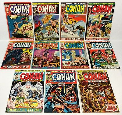 Conan #14,15,16,17,18,19,20,21,22,23,24 (11-issue RUN/LOT, 1st Red Sonja) Marvel