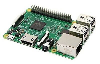 Raspberry Pi 3 Model B Quad Core 1.2GHz 64bit CPU 1GB RAM WiFi Bluetooth 4.1