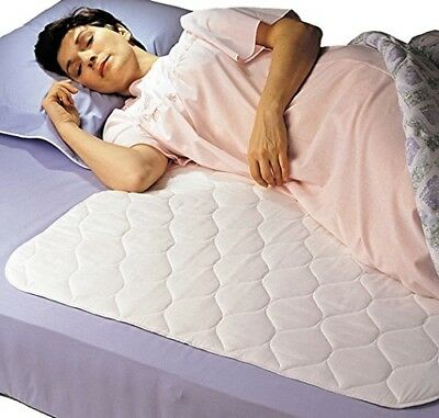 Bed Waterproof Sheet Protector Pad Mattress Cover Absorbs Wetting Sleeper - NEW