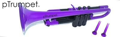 pTrumpet is the world's first ever plastic trumpet, fully functioning Bb, Purple