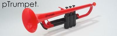 pTrumpet is the world's first ever plastic trumpet, fully functioning Bb, Red