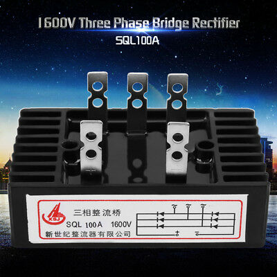 1600V High Power Three-Phase Bridge Rectifier Power Module AC to DC 100A/200A MP