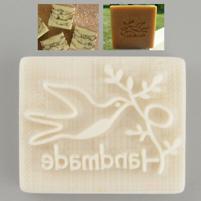 Pigeon Desing Handmade Resin Soap Stamp Stamping Mold Mould Craft Gift