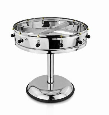 New Star Stainless Steel Order Wheel Ticket Holder, 12 Clips, 14-Inch Dia with
