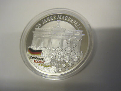 Medaille 25 Jahre Mauerfall, 40mm, ca.30gr. #285