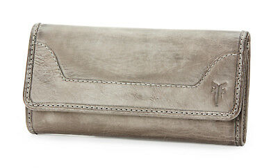 New Frye MELISSA WALLET Ice Leather Wallet 34DB139-ICE